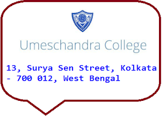 Umesh Chandra College, 13, Surya Sen Street, Kolkata - 700 012, West Bengal