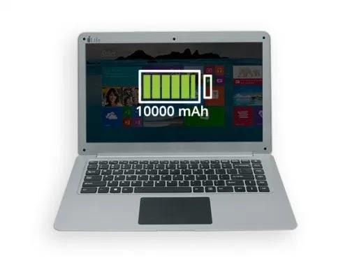 iLife ZED Air Laptop 10000 mAh battery