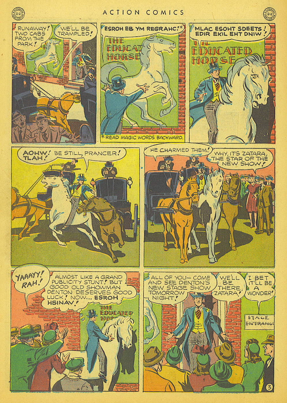 Read online Action Comics (1938) comic -  Issue #91 - 44