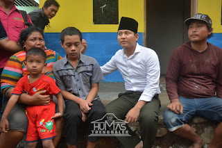Wakil Bupati Trenggalek Tinjau Bedah Rumah di Kecamatan Panggul