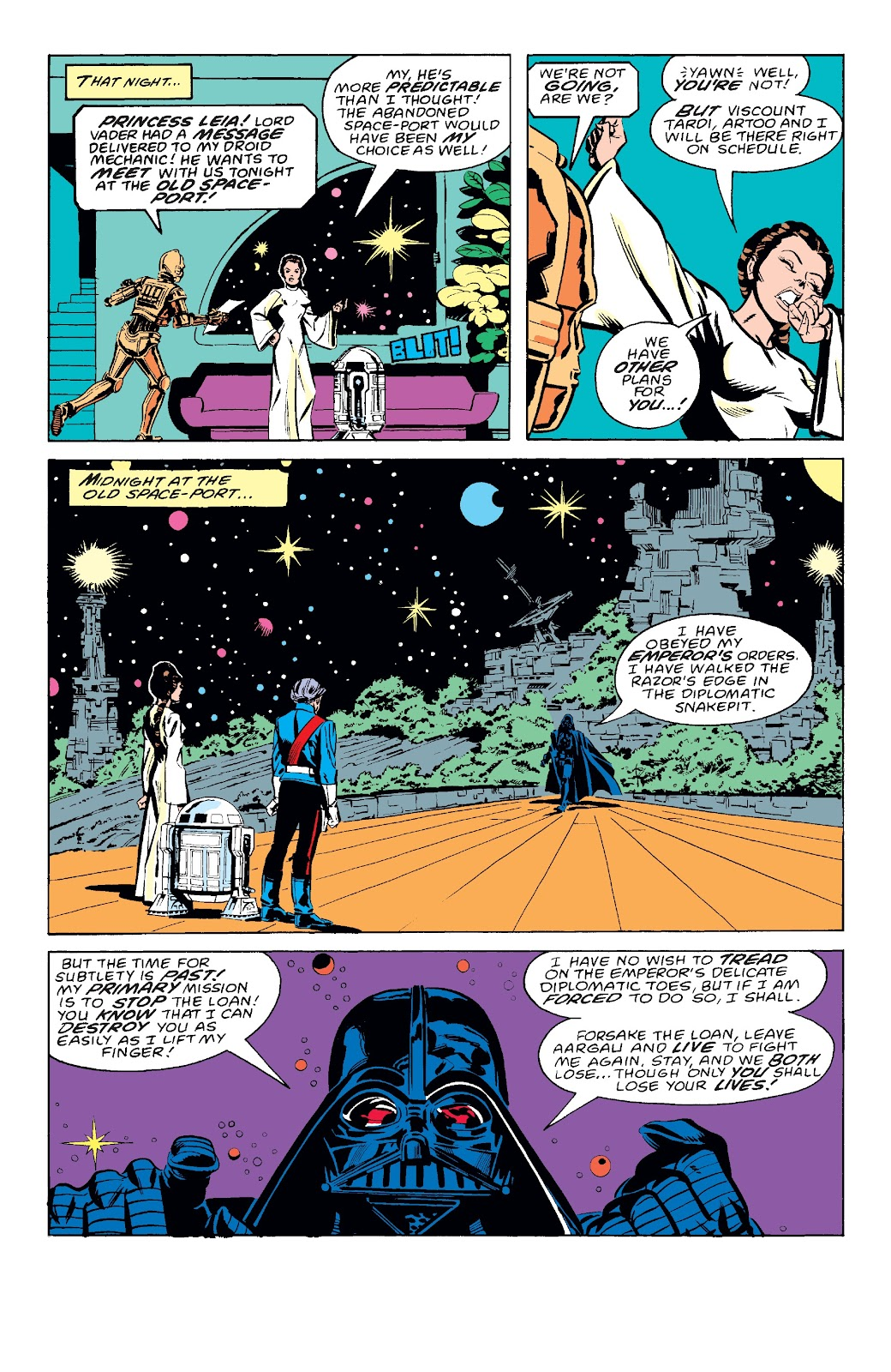 Read online Star Wars Legends: The Original Marvel Years - Epic Collection comic -  Issue # TPB 3 (Part 2) - 99