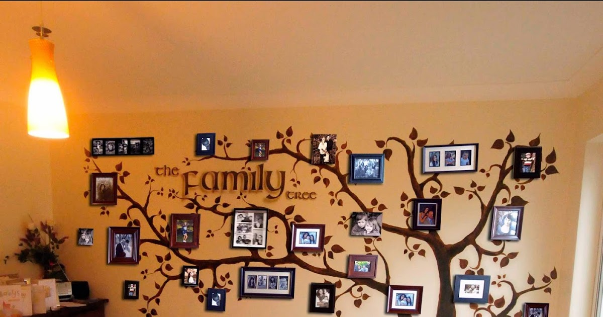 Mural Painting Professionals featurewalls.ie: FAMILY TREE ...