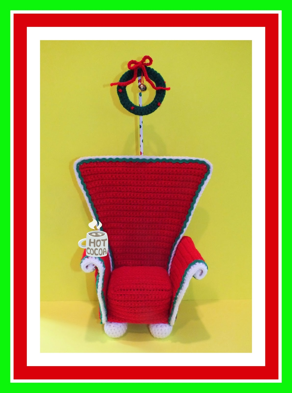 crochet christmas chair covers bertoia outdoor connie 39s spot crocheting crafting creating