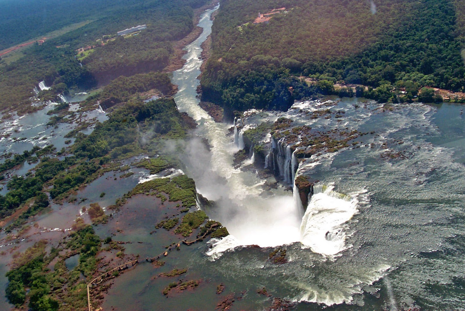 iguazu places most argentina amazing place brazil waterfalls countries travel border country take fly