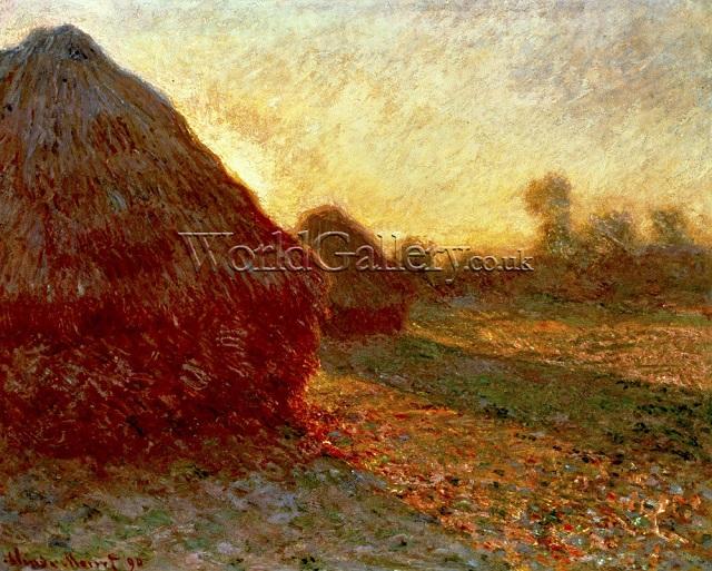 Lukisan Haystacks: Last Rays of The Sun ini Terjual 163 Milyar, Asli Keren