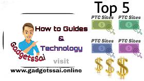 Top 5 PTC sites to make money online