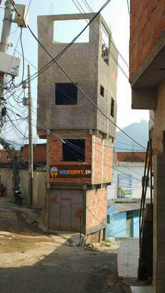 This is How they build Houses in my country
