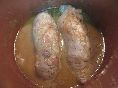 Solomillo en salsa de castañas olla GM