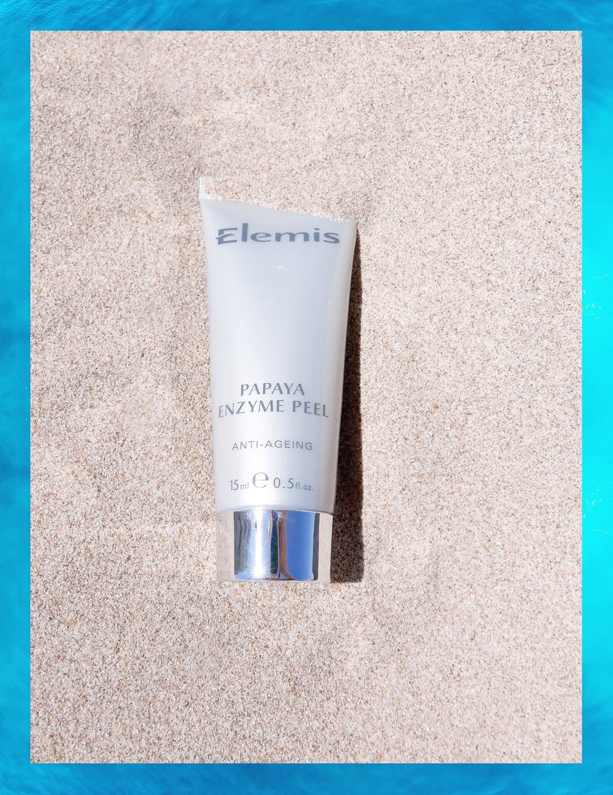 Euriental | luxury travel & style | travel beauty products, Elemis Papaya Enzyme Peel