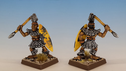 Talisman Zulu, Citadel Miniatures (1987, sculpted by Aly Morrison)
