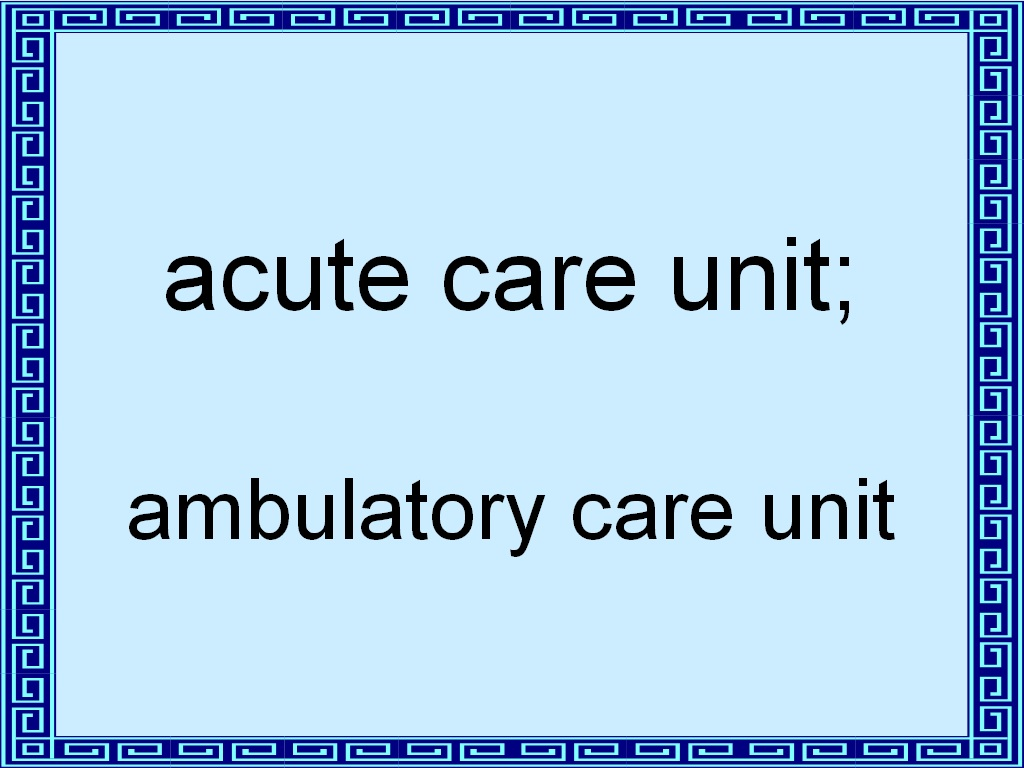 ambulatory care 2 Ambulatory care pharmacy addresses the provision of integrated, accessible healthcare services of ambulatory patients transitioning from the hospital to home or another care facility currently there are more than 3,250 bps board certified ambulatory care pharmacists.