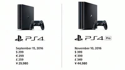 SIapkan Tabungan Kalian Untuk PS4 PRO