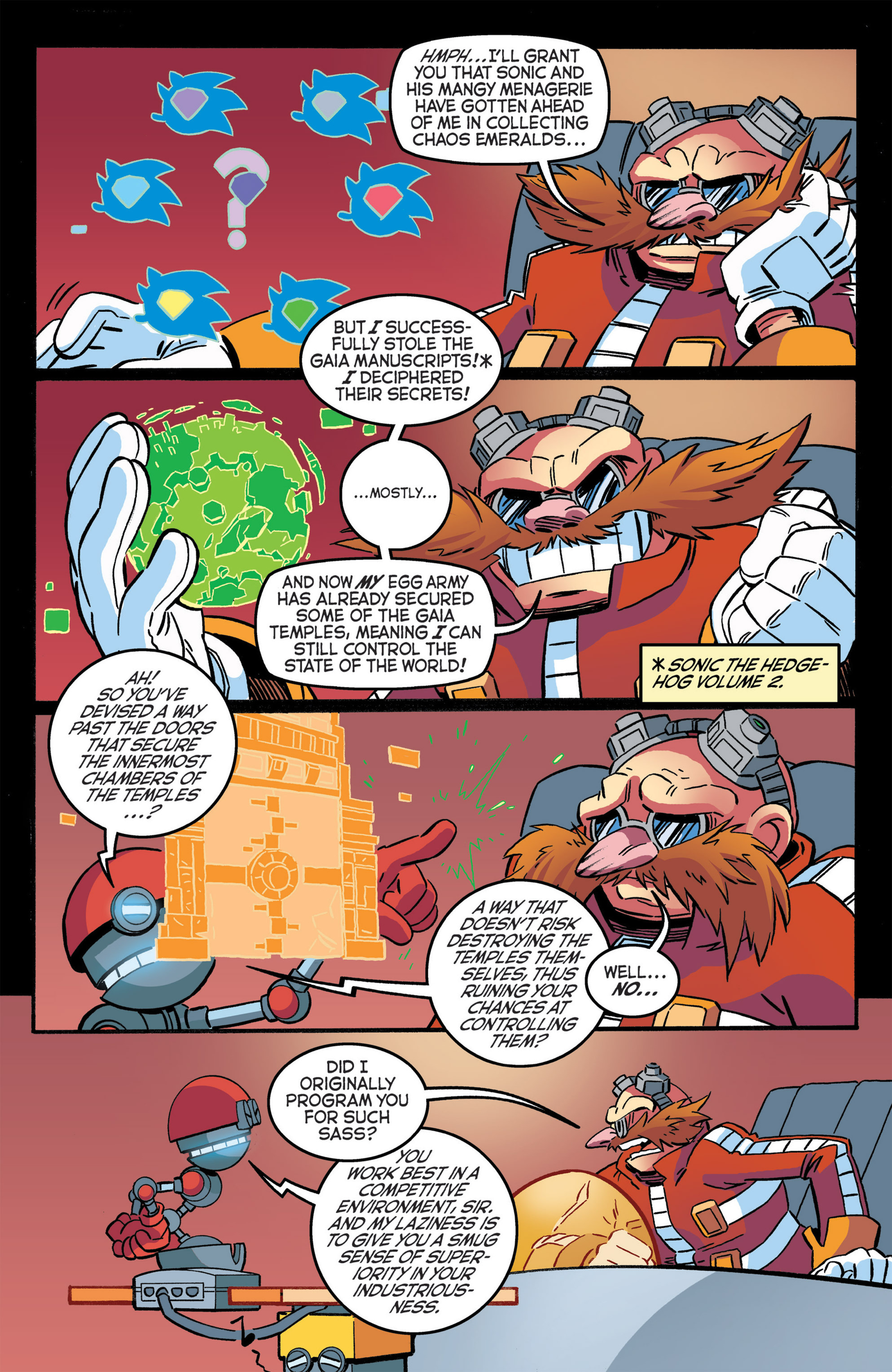 Read online Sonic The Hedgehog comic -  Issue #276 - 15