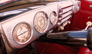 1941 Buick Super 51C Convertible Interior 02