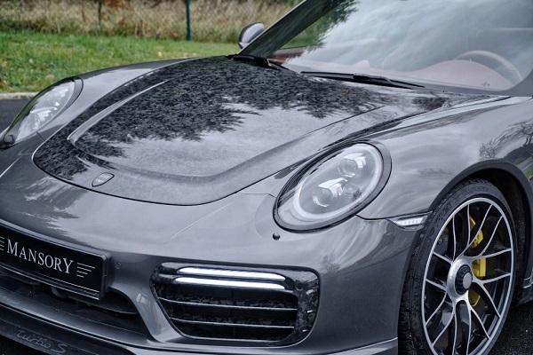 Porsche 911 Turbo S de Mansory