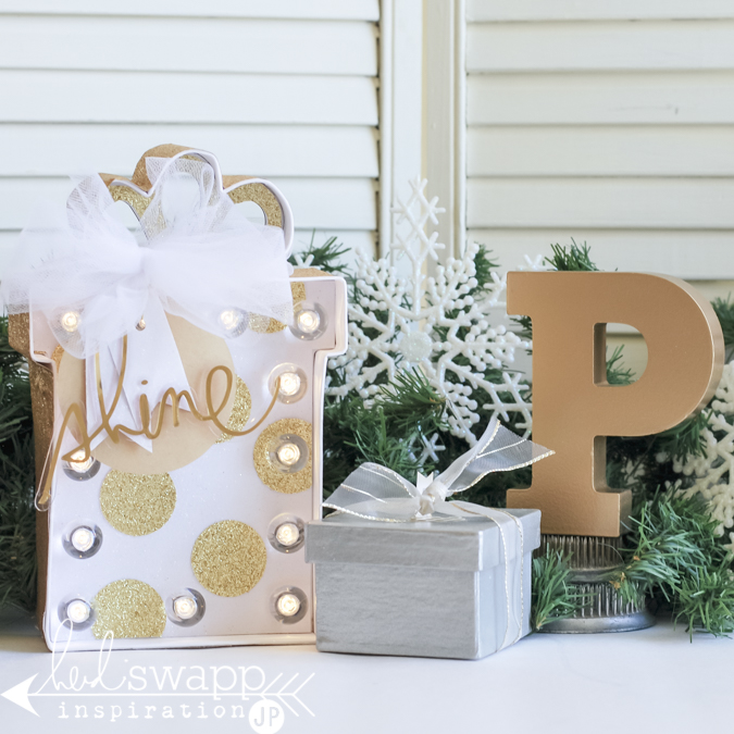 Layer Up Tags For Giving With Heidi Swapp Oh What Fun: Jamie Pate: Christmas Marquee Love