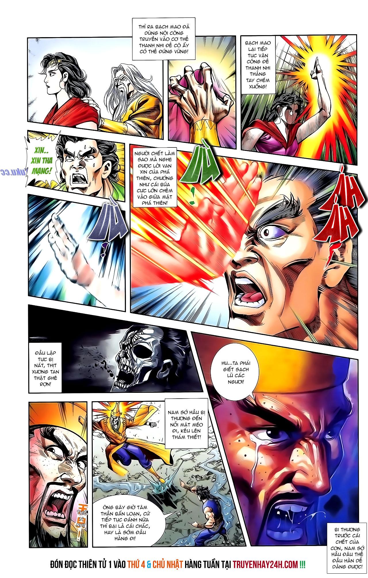 Cơ Phát Khai Chu Bản chapter 131 trang 25