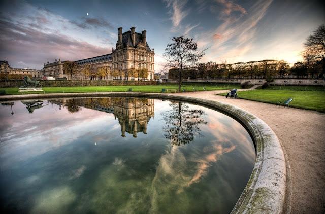 Caminhada no Jardin des Tuileries em Paris
