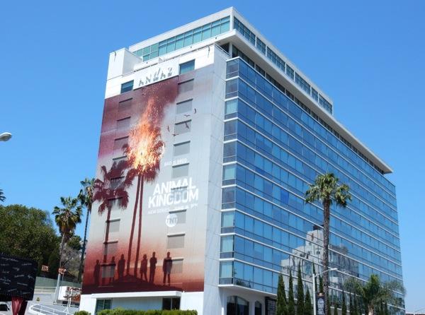 Giant Animal Kingdom series premiere billboard