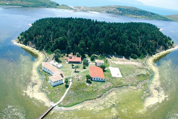 Ishulli i Zvërnecit,Vlorë.