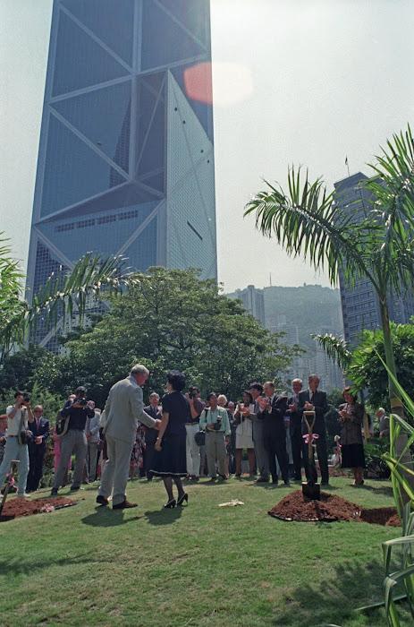 Hong Kong, Charter Garden, © L. Gigout, 1990