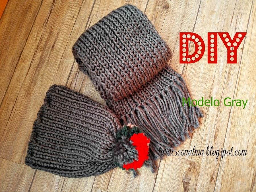 craft, handmade, lana colores, tutorial, diy, paso a paso, 2 agujas, calceta, ganchillo, fácil, barato, flecos, punto elástico, pompón