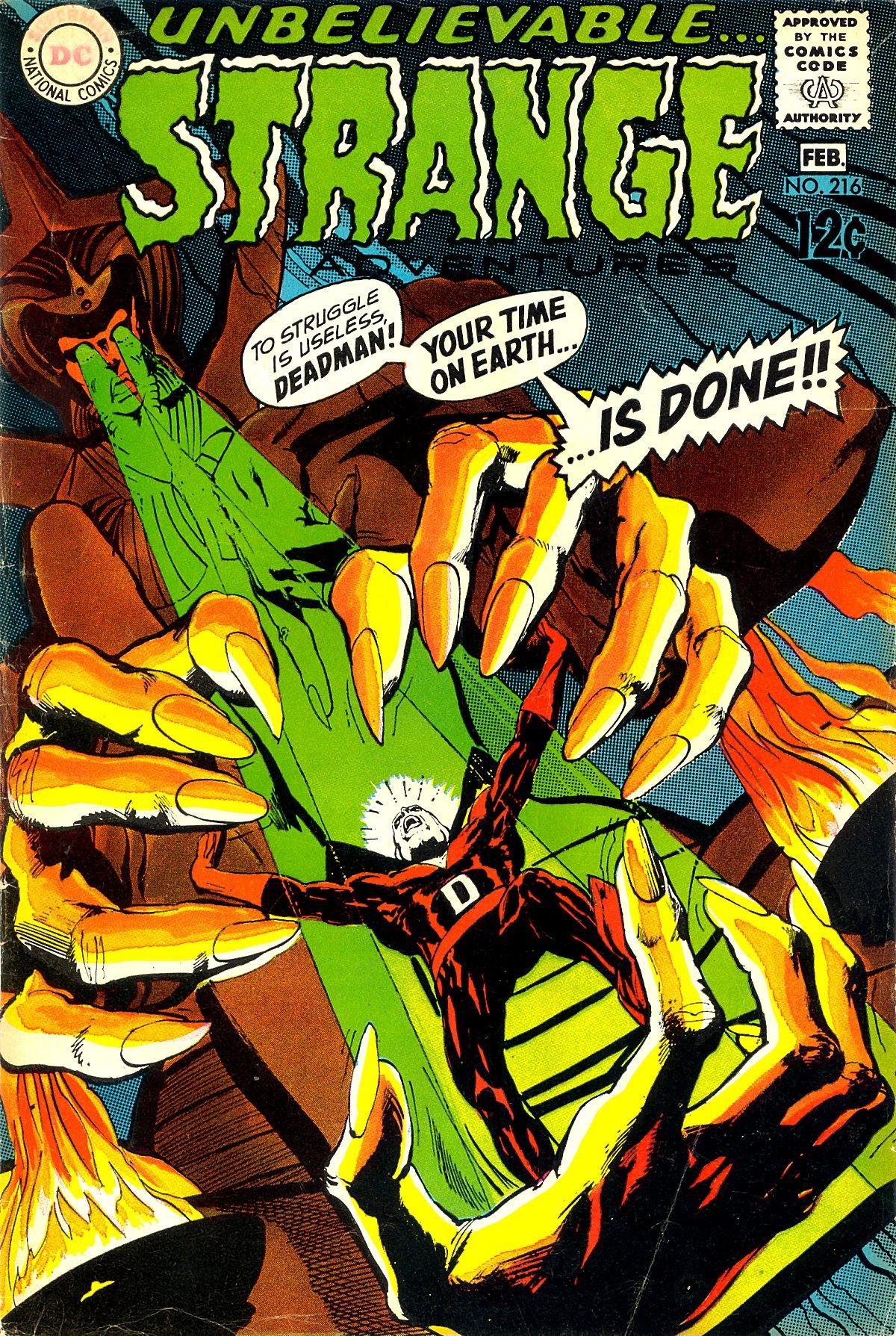 Strange Adventures (1950) issue 216 - Page 1