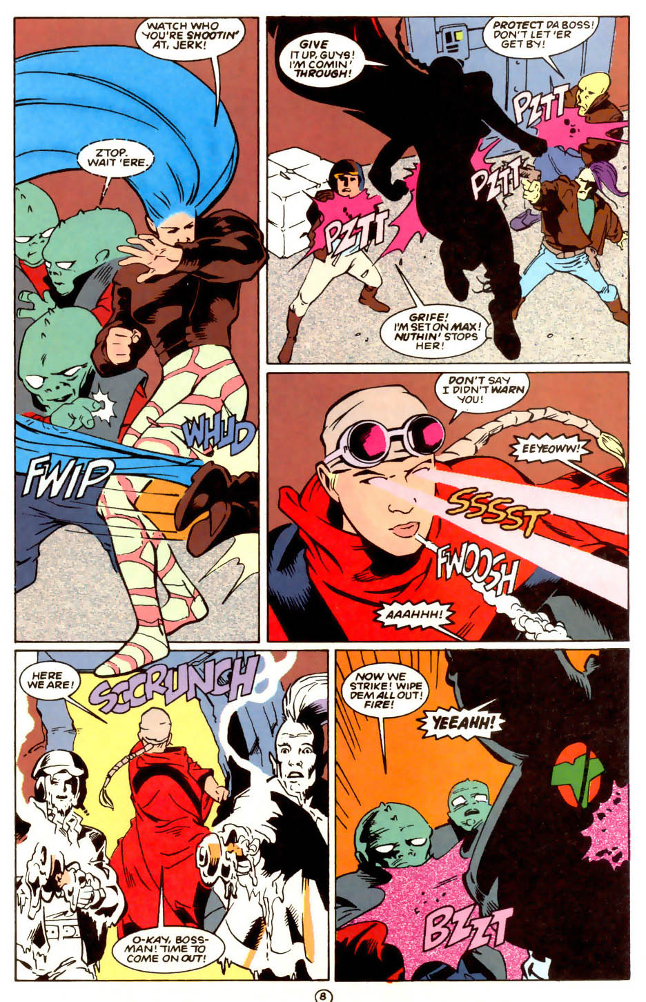 Legion of Super-Heroes (1989) 56 Page 8