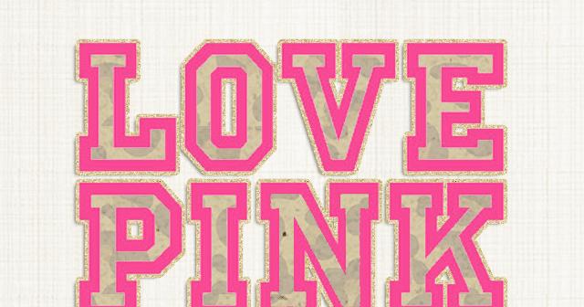 love pink freebie - photo #2