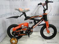 1 Sepeda Anak Everbest 12-5528 East Coast Suspensi 12 Inci