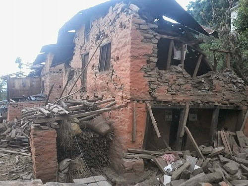 sindhupalchowk earthquake damage