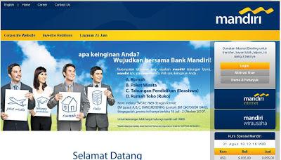 Cara Aktifkan Mandiri Internet Banking