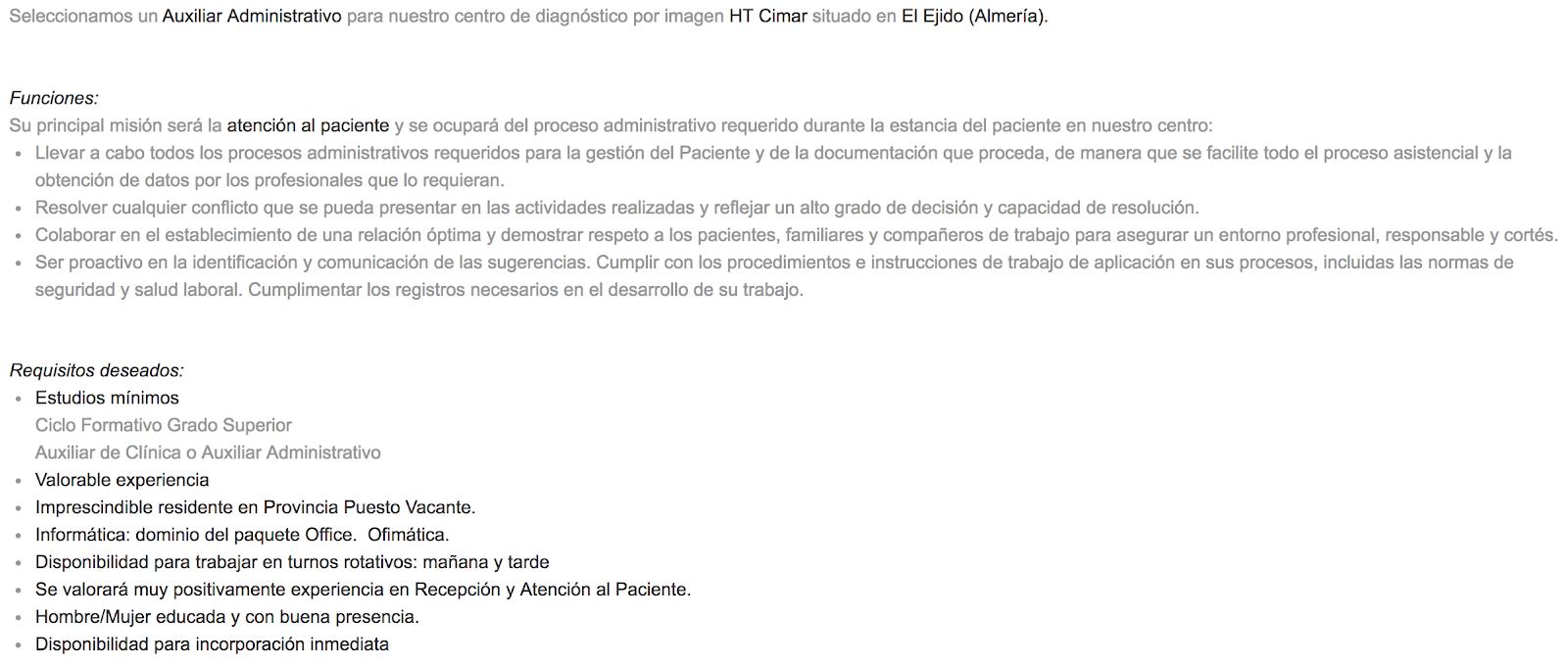 Ofertas de Empleo en España - photo#38