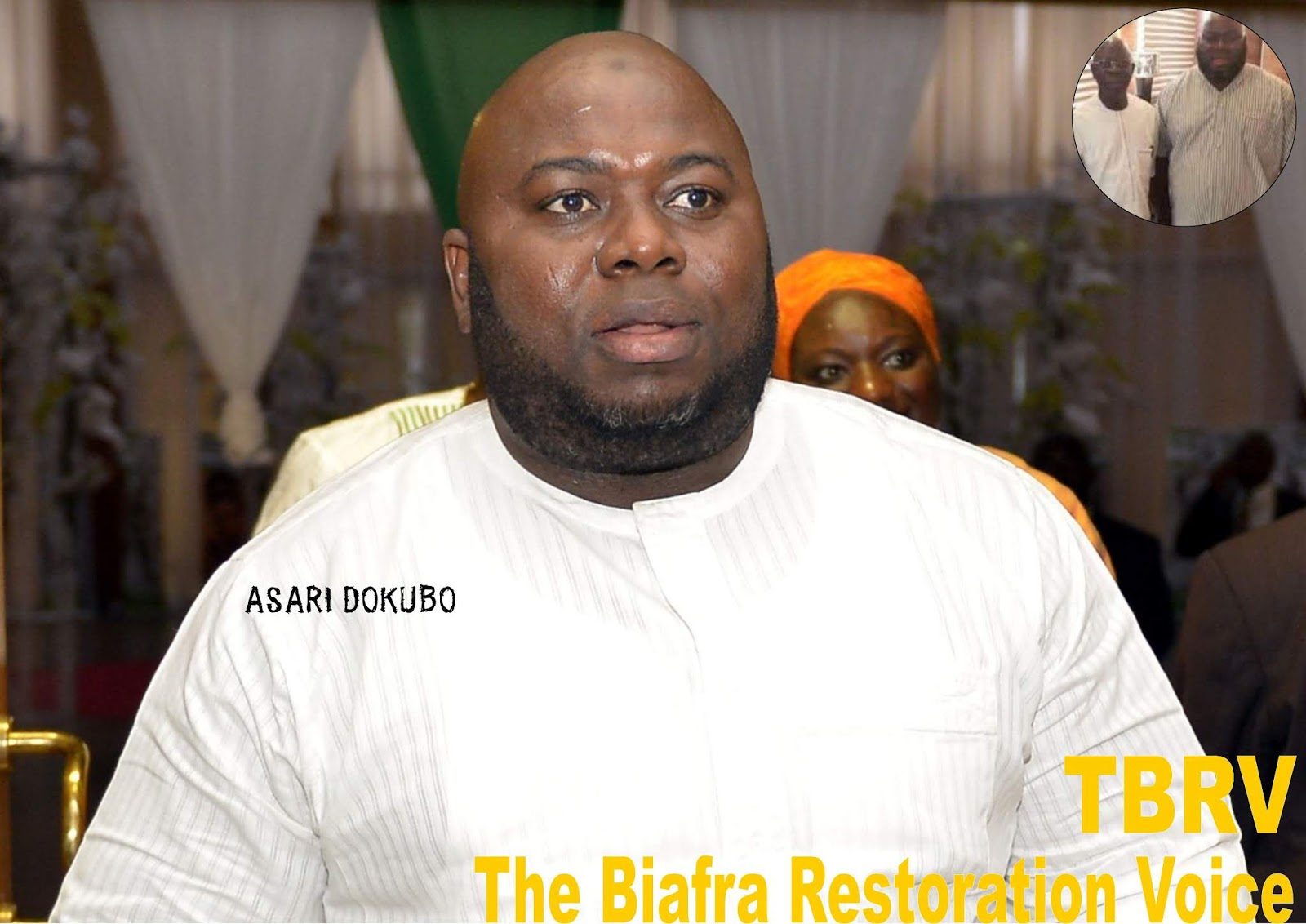 asari dokubo press conference video