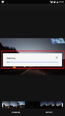 Cara Menstabilkan Video Menggunakan Google Photos3