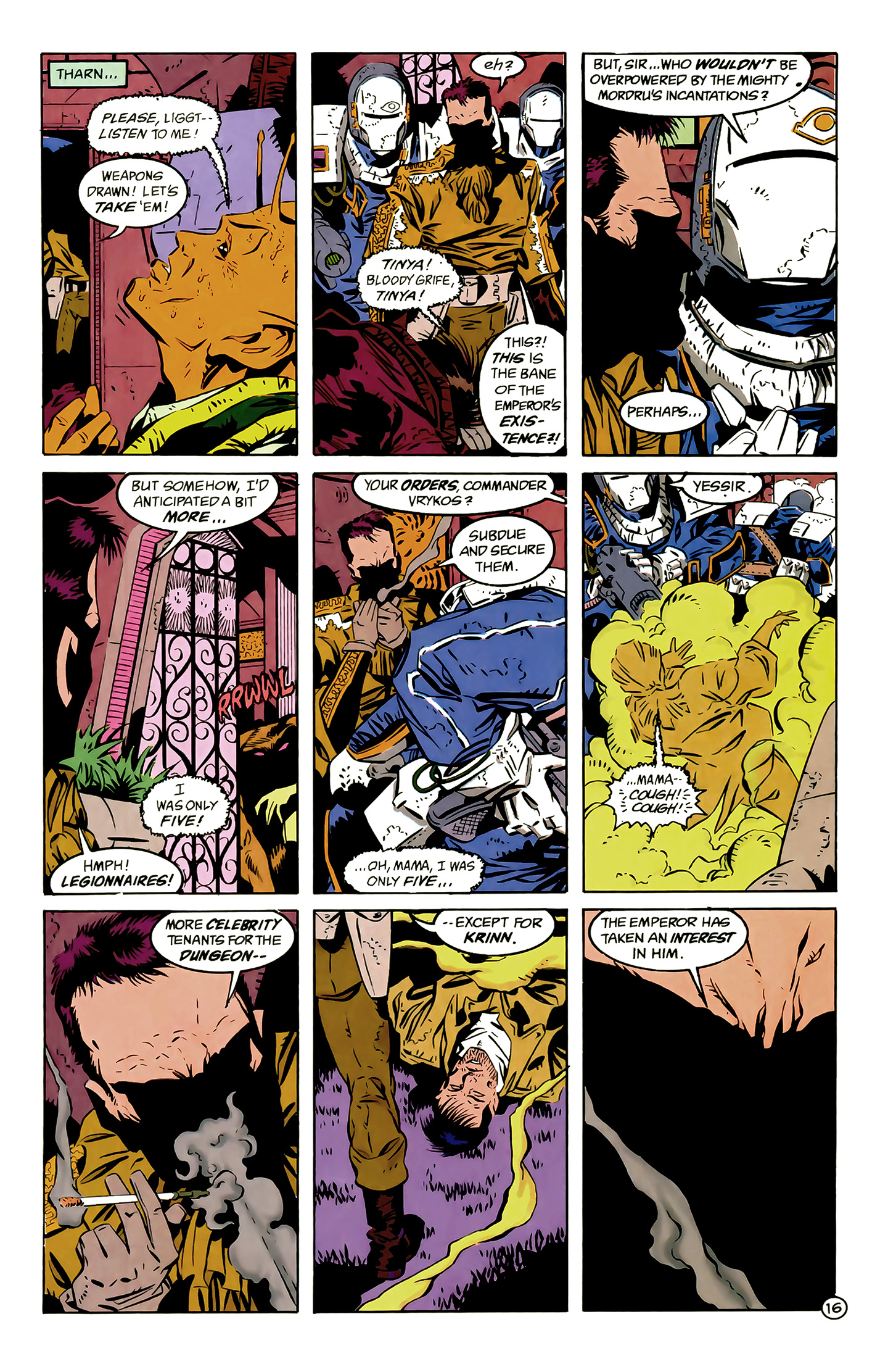 Legion of Super-Heroes (1989) 6 Page 16