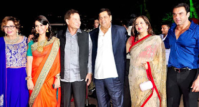 David Dhawan Salim Khan and Sohail Khan
