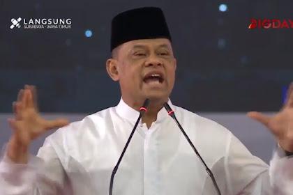 Gatot Nurmantyo Cerita Prajurit Terbaik TNI Banyak yang Dicopot oleh Pemerintahan Saat Ini