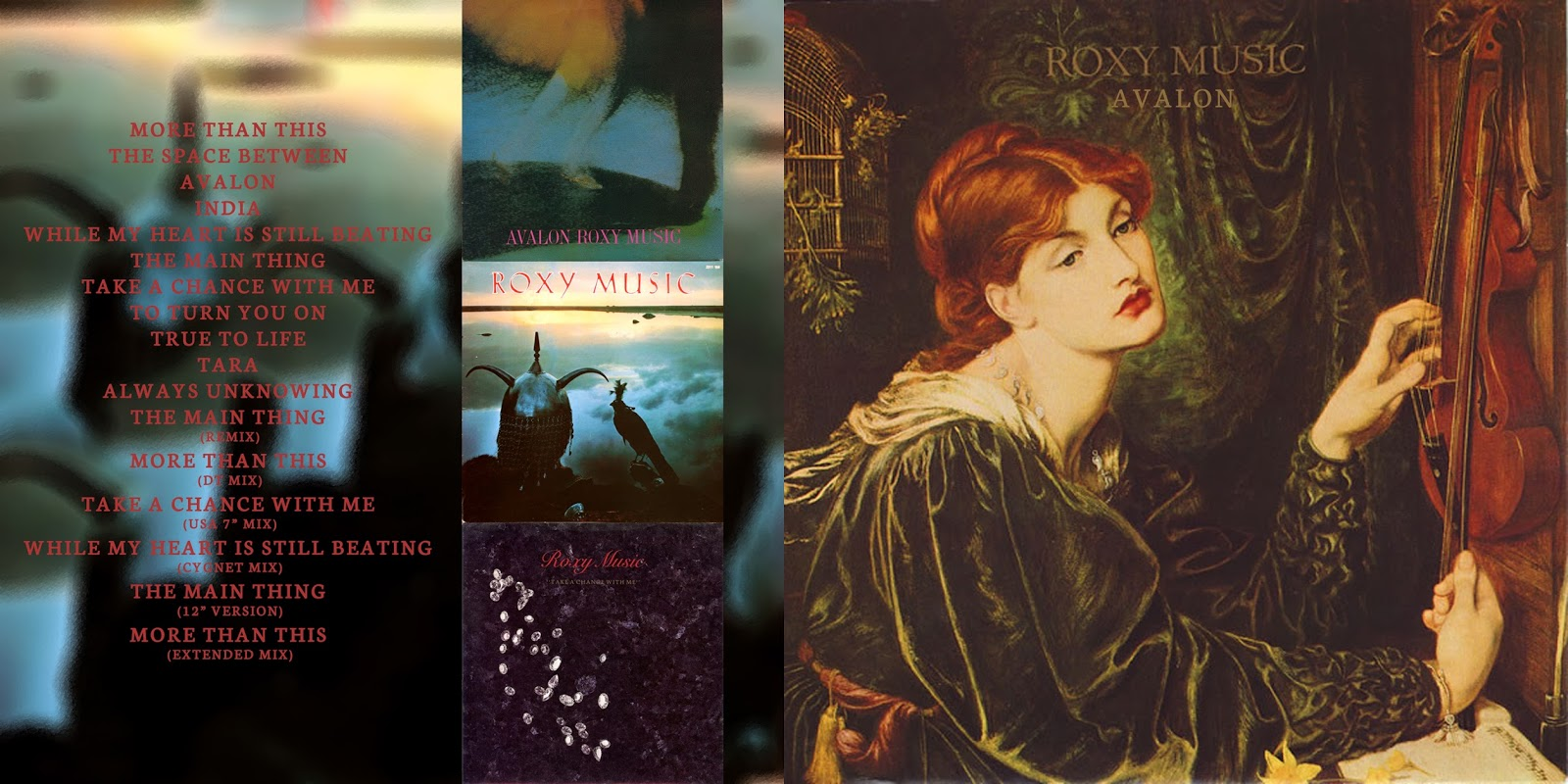 All the Air In My Lungs: Roxy Music - Avalon - 1982