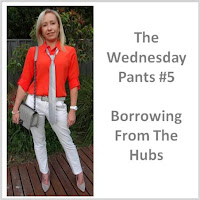 Sydney Fashion Hunter - The Wednesday Pants #5 - Borrowing From The Hubs