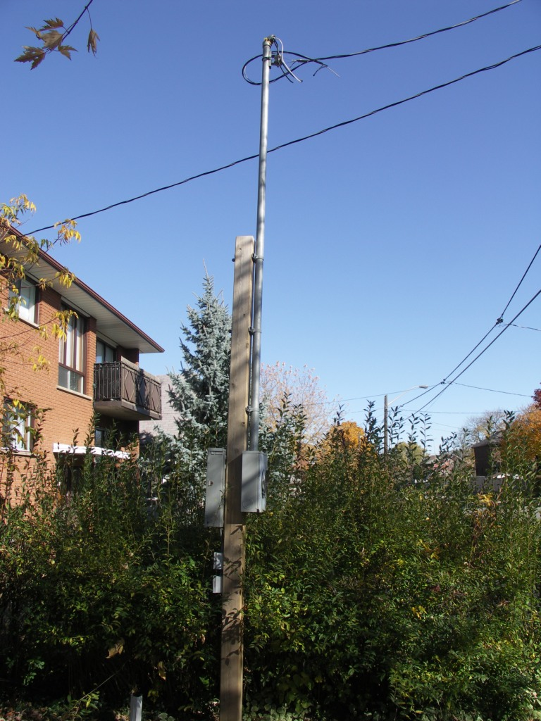 Temporary Service Pole Installation in Ontario | Pole