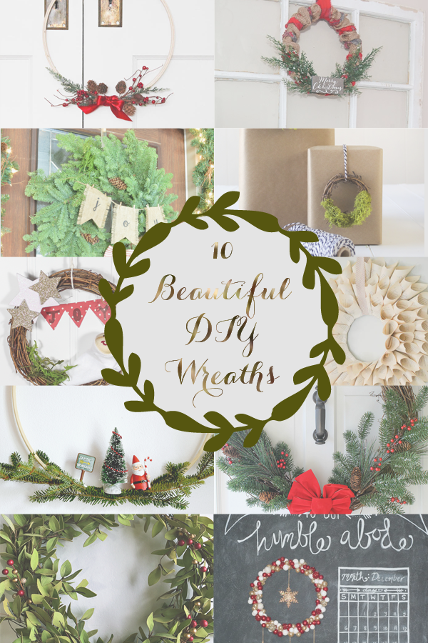10 Beautiful DIY Wreaths | Monthly DIY Challenge