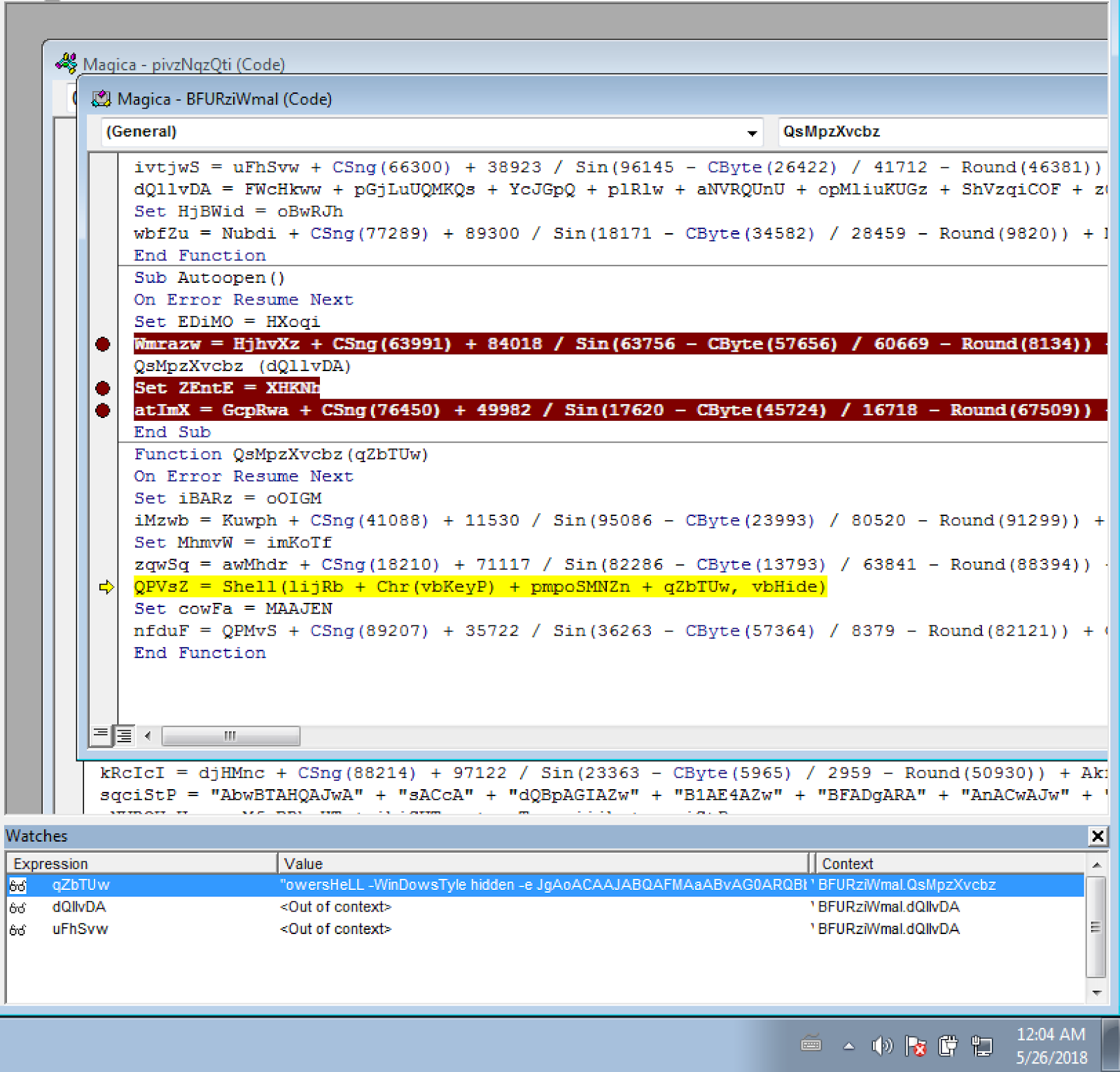 MalHide Malware uses the compromised system as an eMail relay