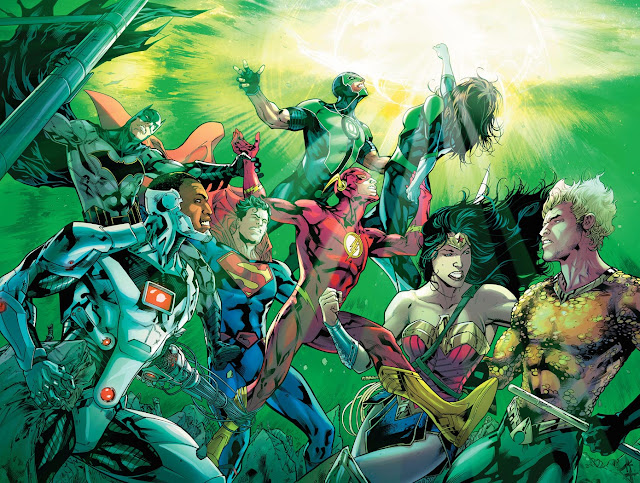justice league comics