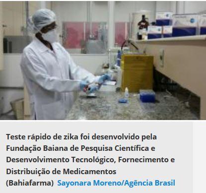 Testes de Zika vírus