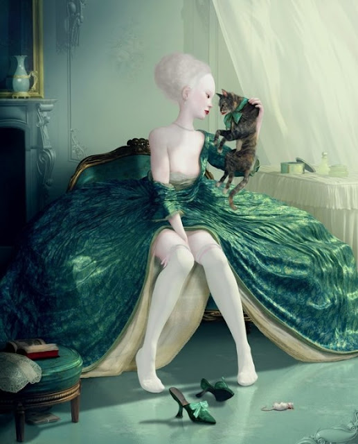 French Kiss by Ray Caesar, 2009