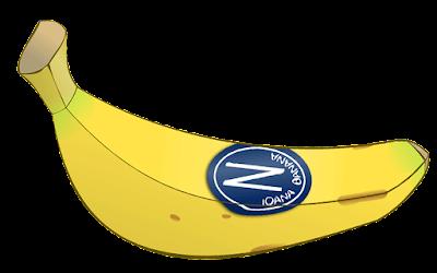 clipart buah pisang sun pride