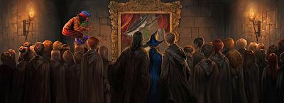 Il dipinto squarciato (Momento 2)