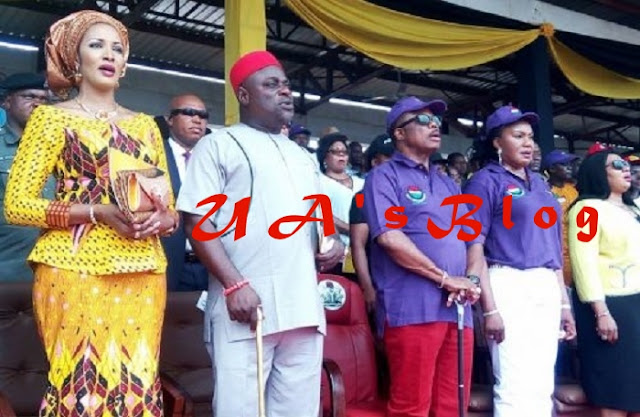 APGA tackles Bianca, says Ojukwu's widow lost Senate ticket after getting support