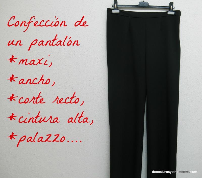 De Costuras Y Otras Cosas Pantalon Ancho